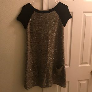 Style & Co Sequin Sweater Dress